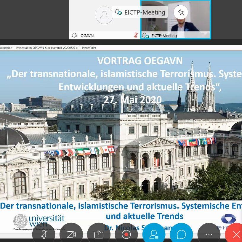 ÖGAVN Online-Lecture: Vorstellung Studienpublikation von Dr. Nicolas Stockhammer