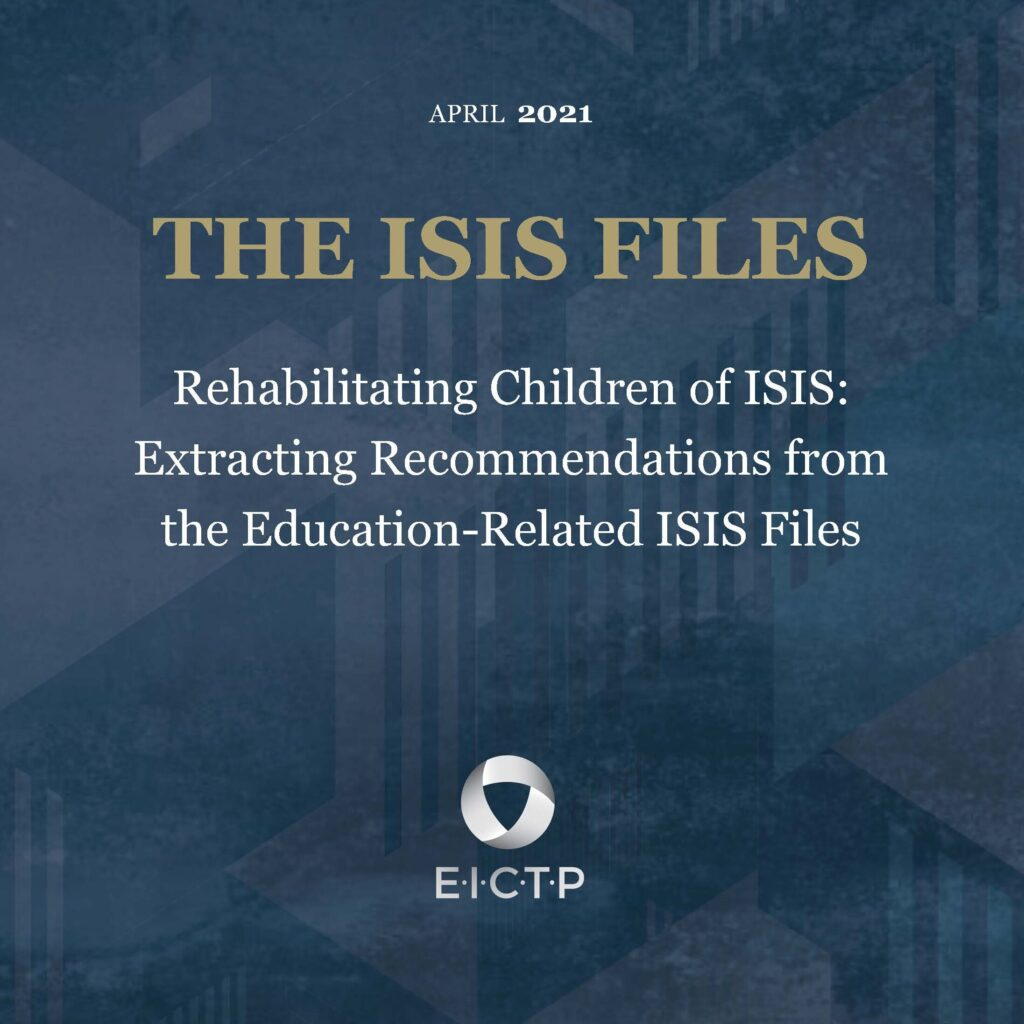 Rehabilitating Children of ISIS: Extracting Recommendations from the Education-Related ISIS Files